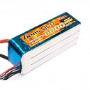 Gens ace 6000mAh 22.2V 35C 6S1P Lipo Battery