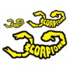 Scorpion Decal Sticker 002