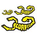 Scorpion Pegatinas 002