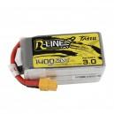 Tattu R-Line Version 3.0 1400mAh 22.2V 120C 6S1P Lipo Battery Pack with XT60 Plug