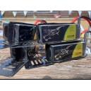 2ª Mano - (4Ud.) TATTU 1800mAh 75C 6S1P Lipo Battery Pack with XT60