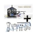 T-Rex 100S Super Combo + Gratis rotor de Aluminio