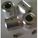 Da Vinci Aluminum Skid Nuts - T-Rex 550/600/700
