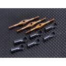 Titanium Turnbuckles T-Rex 550 Swashplate