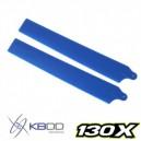 KBDD Extreme Edition 130X Main Blades Pearl Blue
