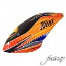 FUSUNO AREA51-RC Airbrush Fiberglass canopy Trex 600N