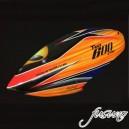 FUSUNO AREA51-RC Airbrush Fiberglass canopy Trex 600E PRO