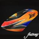 FUSUNO AREA51-RC Airbrush Fiberglass canopy Trex 700N