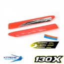 Fast Response Main Blade (Red) -Blade 130X