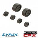 Lynx Heli Innovations NANO CPX Super Precise Std Bearing kit