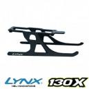 Lynx Heli 130X Ultraflex Landing Gear Black