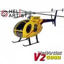 HeliArtist 500D V2 Fiber Glass Fuselage