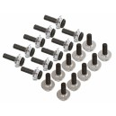 Lynx Stepped Frame Screw Set - Silver - 20 T-REX600-700-800