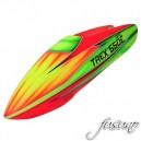 FUSUNO Rocket Fiberglass Airbrush Canopy T-REX 550 DFC,V1,V2
