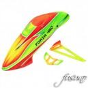 Fusuno Rocket Airbrush Fiberglass Canopy Forza 450 Super Combo