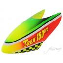 Fusuno Fastica Airbrush Fiberglass canopy Trex 150