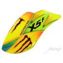 Fusuno Monster Airbrush Fiberglass Canopy Gaui X5 Formula