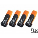 RJX Battery Strap 200 X 20mm x 4pcs Orange for FPV Racing