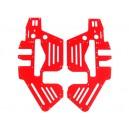 FUSUNO Painted Neon Red Fiberglass Frame -Trex 450 Pro
