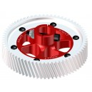 ynx Heli GOBLIN 700 - CNC Ultra Main Gear Set - Red Devil