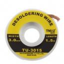 3mm Desoldering Braid