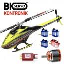 SAB Goblin 420 Kontronik & BK Servo Combo