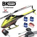 SAB Goblin 420 Hobbywing, Xnova & BK Servo Combo