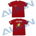 Align Flying T-Shirt T-Rex XL Red