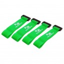 RJX Battery Strap 200X20mm x 4pcs Green for FPV Racing T6011-GXS