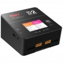 iSDT DUO SMART CHARGER D2 - 200W, 12A, 2x6S Lipo, internal power supply