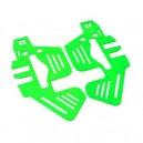 FUSUNO New Neon Green Fiberglass Frame Trex 450 Pro