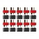 Gold connector Deans Ultra Plug with insulating cap 10 plugs
