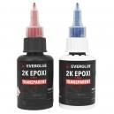 Everglue 30 minute epoxy 100g accordion dosing bottle non-drip