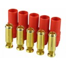 YUKI MODEL gold connector AS150 5 sockets red housing