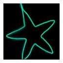 Cold Light String (1M) Highlight green