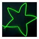 Cold Light String (1M) Lime Green