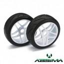 Buggy wheels 1/8 Street Blanco (2Ud.)
