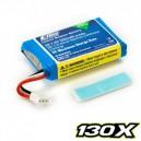 300Mah 2S 7.4V 35V 130X Li-Po Battery