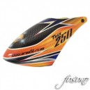 FUSUNO AREA51-RC Airbrush Fiberglass canopy Trex 250