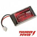 Thunder Power 325Mah 2S 7.4V 65C Blade 130X Battery