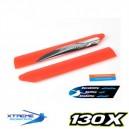 Xtreme Tough Main Blade (Red) - Blade 130X
