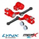 Lynx Heli Innovations MCPX-BL DFC Head Set Red Devil