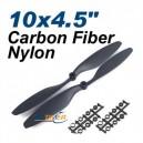 1 Pair Carbon Reinforced 10x4.5