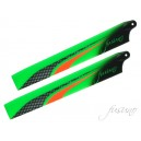 Fusuno XS Engineering 135mm neon orange main blades