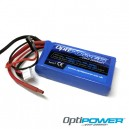 Optipower Lipo Cell Battery 1450mAh 2S1P 20C