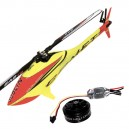 SAB Mini Comet With Motor ESC and Blades Red/Yellow ***PRE-ORDER***