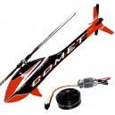 SAB Mini Comet With Motor ESC and Blades Red/Black ***PRE-ORDER***