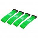 RJX Battery Strap 200X20mm x 4pcs Green for FPV Racing T6011-GXS